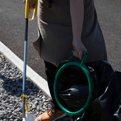 Litter Picker With Trigger Guard