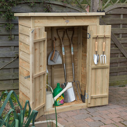 Forest Forest Garden Pressure Treated Overlap Garden Store Pent - 82980 - from Toolstation