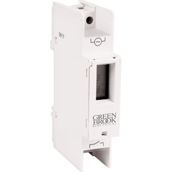 Greenbrook Electrical Greenbrook Digital DIN Rail Mounting Timer 16A Resistive 2A Inductive - 83052 - from Toolstation