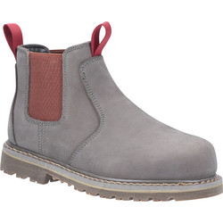 Amblers Amblers AS106 Ladies Slip On Safety Boots Grey Size 8 - 83123 - from Toolstation
