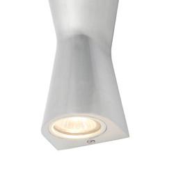 Skye Double Cone IP44 GU10 Wall Light