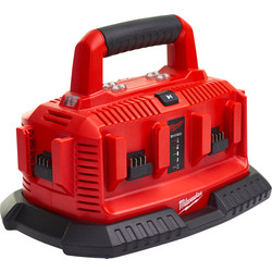 Milwaukee M1814C6 Multi-bay Charger 240V