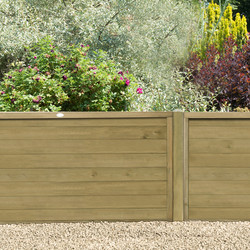 Forest Forest Garden Pressure Treated Horizontal Tongue And Groove Fence Panel 6' x 4' - 83342 - from Toolstation