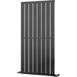Ximax Ximax Oxford Single Designer Radiator 1200 x 595mm 2614Btu Anthracite - 83347 - from Toolstation
