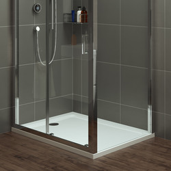 Mira Flight Safe Rectangular Shower Tray