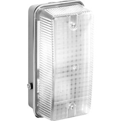 Meridian Lighting 100W Bulkhead with Photocell  - 83449 - from Toolstation