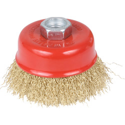 Abracs Abracs Wire Crimped Cup Brush 75mm - 83543 - from Toolstation