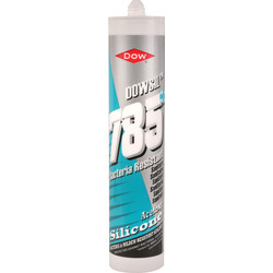 Dow Dow DC785 Sanitary Sealant 310ml Manhattan Grey - 83546 - from Toolstation