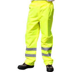 Hi Vis Trousers Large - 83583 - from Toolstation