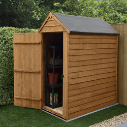 Forest Forest Garden Overlap Dip Treated Shed - No Window 3' x 5' - 83626 - from Toolstation