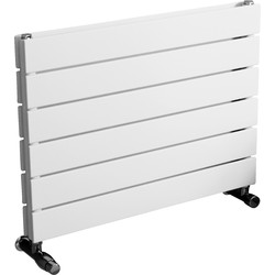 Ximax Ximax Oxford Duo Horizontal Designer Radiator 445 x 600mm 1536Btu White - 83781 - from Toolstation