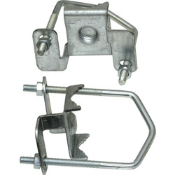 TV Aerial Clamp Fixing Kit  - 83800 - from Toolstation