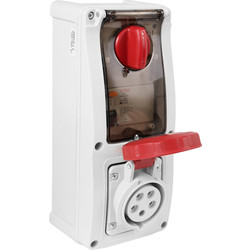 Industrial RCD Socket IP67