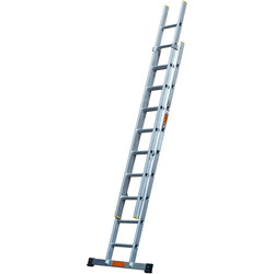 TB Davies TB Davies Pro Trade Double Extension Ladder 2.5m - 83895 - from Toolstation