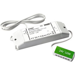 Sensio Sensio 24V LED Driver 60W + 12 Way Connector - 83966 - from Toolstation