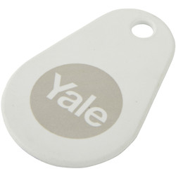 Yale Smart Lock Key Tag White