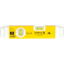 Stabila Stabila 70T Torpedo Spirit Level 250mm - 84153 - from Toolstation