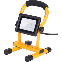 240V LED Portable Work Light IP65 10W 750lm - 84160 - from Toolstation