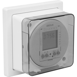 7 Day Electronic Socket Box Timer 230V AC 13A