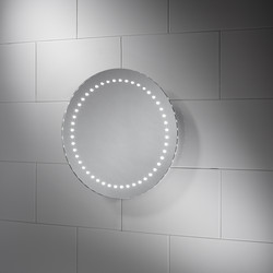 Sensio Sensio Orla Round LED Mirror 500 x 500 x 40mm - 84258 - from Toolstation