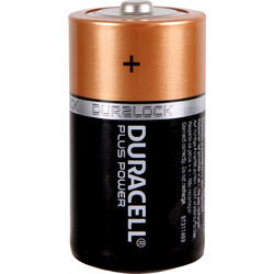 Duracell Duracell Plus Power Battery C - 84268 - from Toolstation