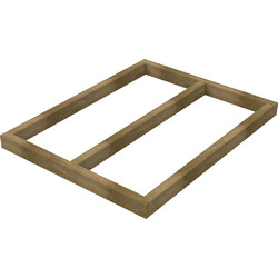 Forest Forest Garden Shed Base for Overlap Sheds 4' x 3' - 84444 - from Toolstation
