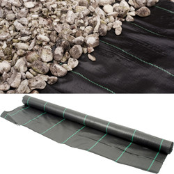 Apollo Heavy Duty Landscape Fabric 2 x 50m Folded - 84465 - from Toolstation