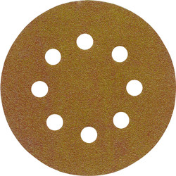 Norton Grip Sanding Disc 125mm 80 Grit - 84508 - from Toolstation
