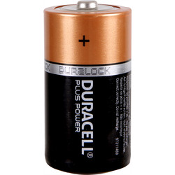Duracell Duracell Plus Power Battery C - 84534 - from Toolstation