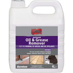 Barrettine Outdoor Oil and Grease Remover 4L - 84539 - from Toolstation