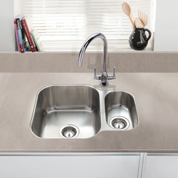 Undermount 1 1/2 Bowl Kitchen Sink