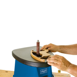 Scheppach OSM100 450W 76mm Oscillating Sander with Sanding Sleeve Kit