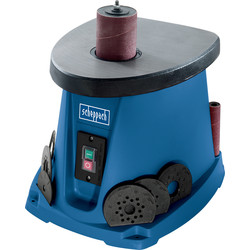 Scheppach Scheppach OSM100 450W 76mm Oscillating Sander with Sanding Sleeve Kit 230V - 84623 - from Toolstation