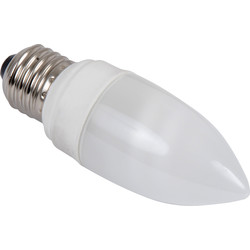 Sylvania Sylvania Energy Saving CFL Candle Lamp T2 9W ES 450lm A - 84731 - from Toolstation