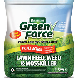 Barrettine Barrettine Lawn Feed, Weed & Moss Killer 8.75kg - 84764 - from Toolstation