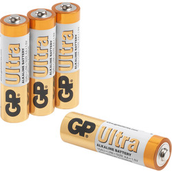GP Ultra Alkaline Battery AA - 84841 - from Toolstation