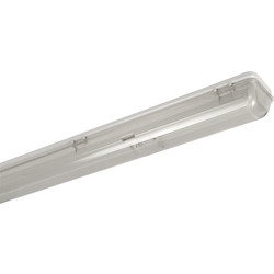 Meridian Lighting Weatherproof Fluorescent Light IP65 1500mm 58W Single - 84854 - from Toolstation