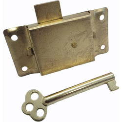 "Cupboard Lock 2 1/2"" - 84887 - from Toolstation"
