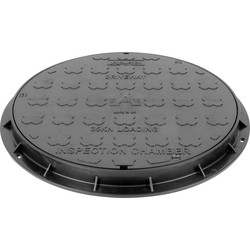 Small Inspection Cover & Frame Round