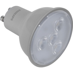 Philips Philips LED Dimmable Lamp GU10 4.5W 240lm A+ - 84990 - from Toolstation