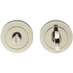 Serozzetta Serozzetta Turn & Release On Round Rose Polished Nickel - 85105 - from Toolstation