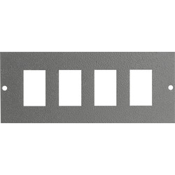 CED Floor Box 3 Compartments Spare Blank Plate for LJ6C Module - 85112 - from Toolstation