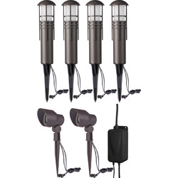 Duracell Duracell Post LV LED Garden Lighting Starter Kit  - 85196 - from Toolstation