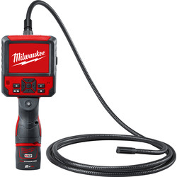 Milwaukee Milwaukee M12ICAV39-201C 12V Li-Ion Inspection Camera 1 x 2.0Ah - 85198 - from Toolstation