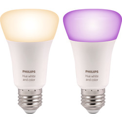 Philips Hue Philips Hue White and Colour Ambiance Lamp E27/ES - 85207 - from Toolstation
