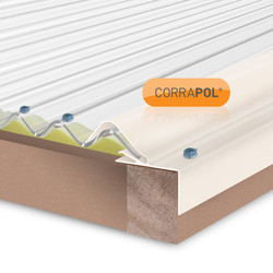 Corrapol Rigid Rock n Lock Side Flashing