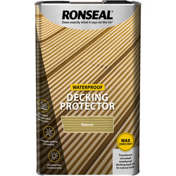 Ronseal Ronseal Decking Protector Natural 5L - 85271 - from Toolstation