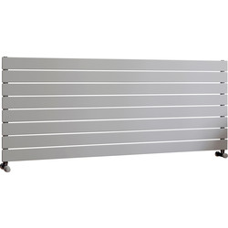 Ximax Ximax Oxford Single Horizontal Designer Radiator 595 x 1500mm 3201Btu White - 85283 - from Toolstation