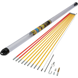 CK C.K MightyRod PRO Cable Rod Standard Set 10m - 85382 - from Toolstation