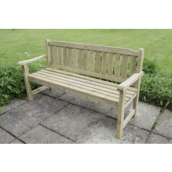 Forest Forest Garden Rosedene Bench 90cm (h) x 165cm (w) x 60cm (d) - 85455 - from Toolstation